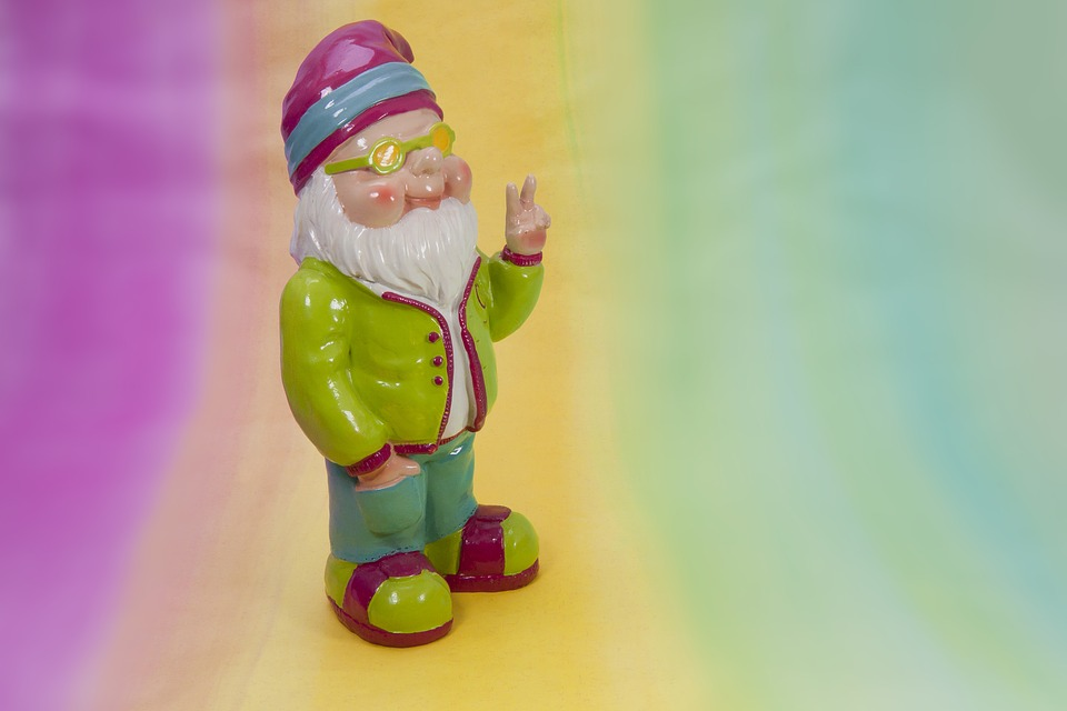 dwarf peace spring garden mood colorful summer crazy psychedelic flashy oblique pink yellow green turquoise garden gnome sunglasses peace maker victory sign peace crazy crazy psychedelic psychedelic psychedelic psychedelic psychedelic