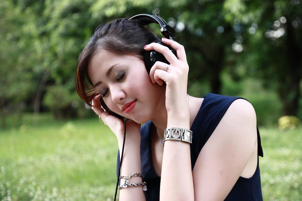 beautiful sound beauty entertainment freedom girl headphones recumbent recreation way of life listen listen to music nature outdoor garden people beautiful picture relax relax relax relax teens woman young headphones headphones headphones headphones headphones listen listen listen to music