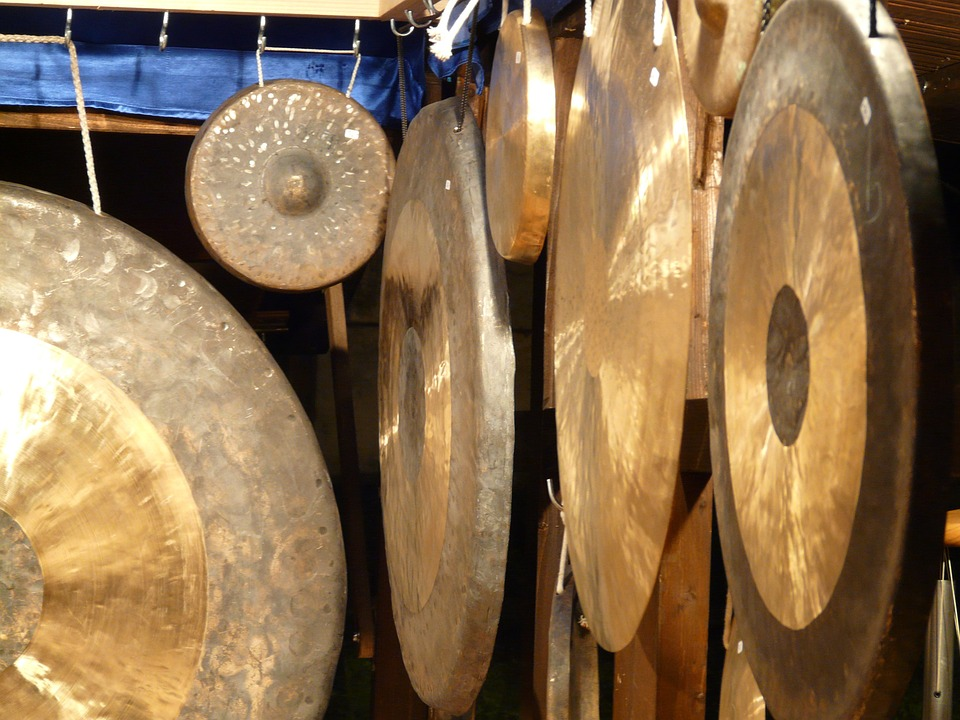gong mark up idiot self tönendes musical instrument music tones sound according to metal gong gong gong gong gong