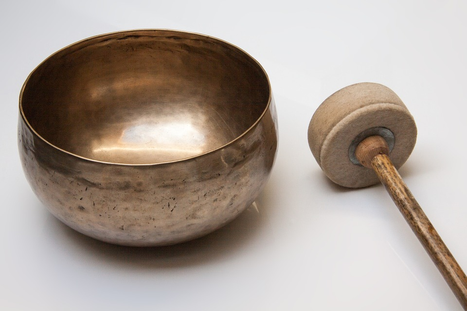 singing bowl bobbin with felt cover meditation sound therapy sound massage musical instrument semi spherical gong like oriental traditional zen buddhism tibet old antique brass singing bowl singing bowl singing bowl meditation meditation meditation meditation meditation sound therapy