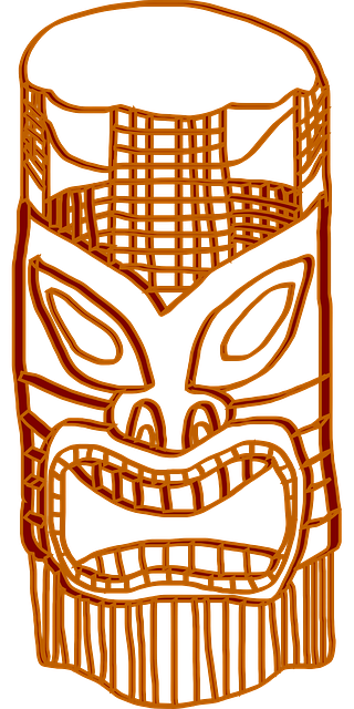 totem mask wood carving art native face culture tribal traditional american indian tattoo wooden tiki ritual ethnic ceremony craft head tribe african primitive rustic craftsmanship history tiki tiki tiki tiki tiki