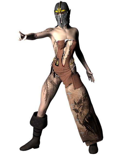 warrior tattoo woman ancient design ink helmet war soldier render photomanipulation old uniform army military protection armor history model 3d warrior warrior warrior warrior warrior army