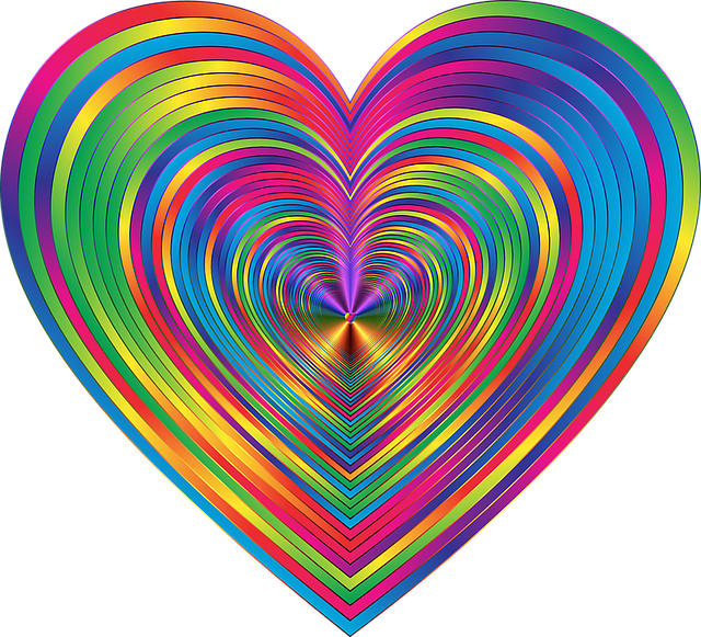 colorful prismatic chromatic rainbow psychedelic abstract hearts love romance passion valentine shiny metallic geometric art rainbow rainbow psychedelic psychedelic psychedelic psychedelic psychedelic love love romance passion geometric geometric art