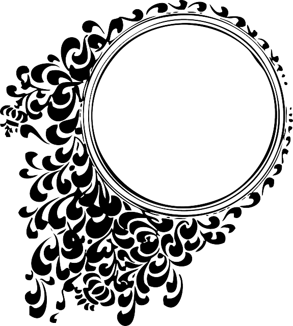decorative mirror round circle patterns black and white frame floral tattoos designs antique elegant vintage celtic mirror mirror mirror mirror circle frame frame frame frame frame tattoos vintage celtic celtic