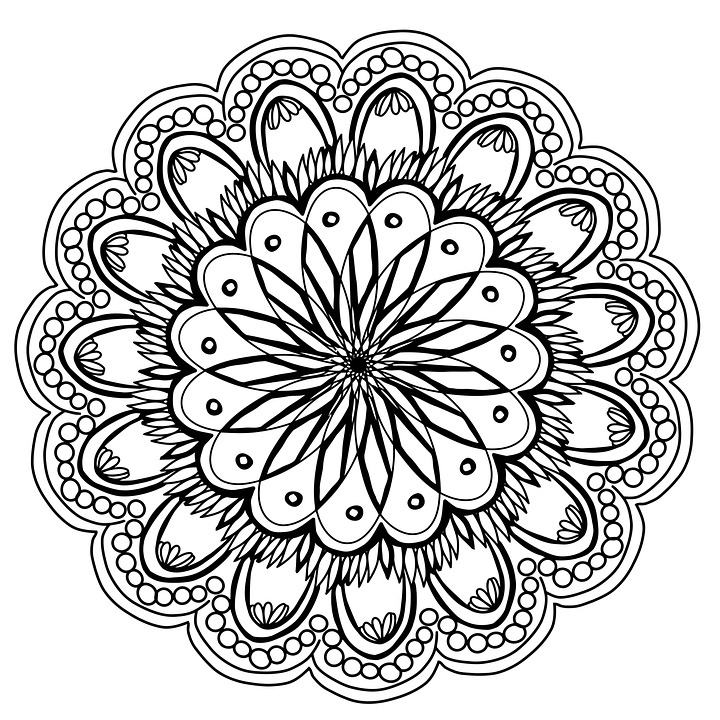 flowers mandala hand drawing pencil artist coloring page coloring fun activity easter teachers handouts pages design decoration indian floral ornament pattern ethnic henna circle vintage meditation oriental arabic round tribal decorative retro style yoga card texture template asian black tattoo lace book mandala mandala mandala mandala mandala easter easter henna yoga